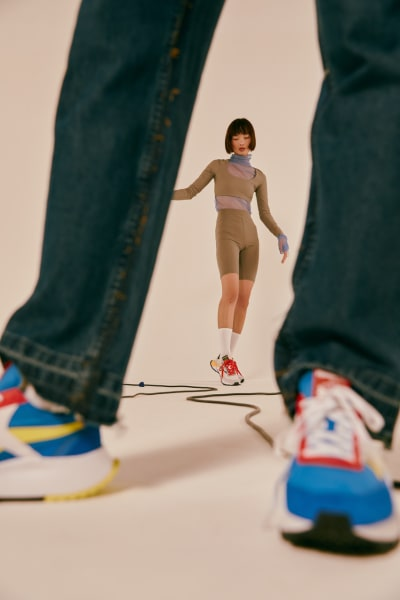 "Press ""Courir"" - Reebok legacy - © Visual Society"