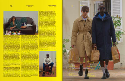 """Press """"Fucking young"""" - FW20 print issue - © Visual Society"""