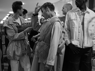 """Press """"Fucking Young"""" - ModeSuisse """"Edition 16"""" Backstage! - © Visual Society"""