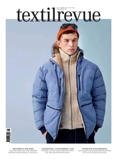 """Press """"Textilerevue"""" - Special Mode Suisse - © Visual Society"""