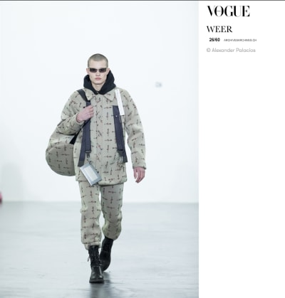 "Press ""Vogue Italia"" - Mode Suisse - © Visual Society"