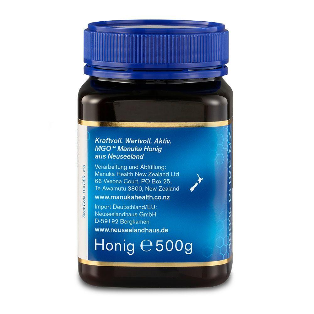 manuka honig dosierung