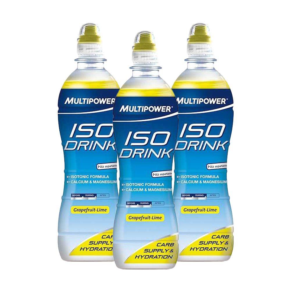 3 x Iso Drink (3x500ml) von Multipower