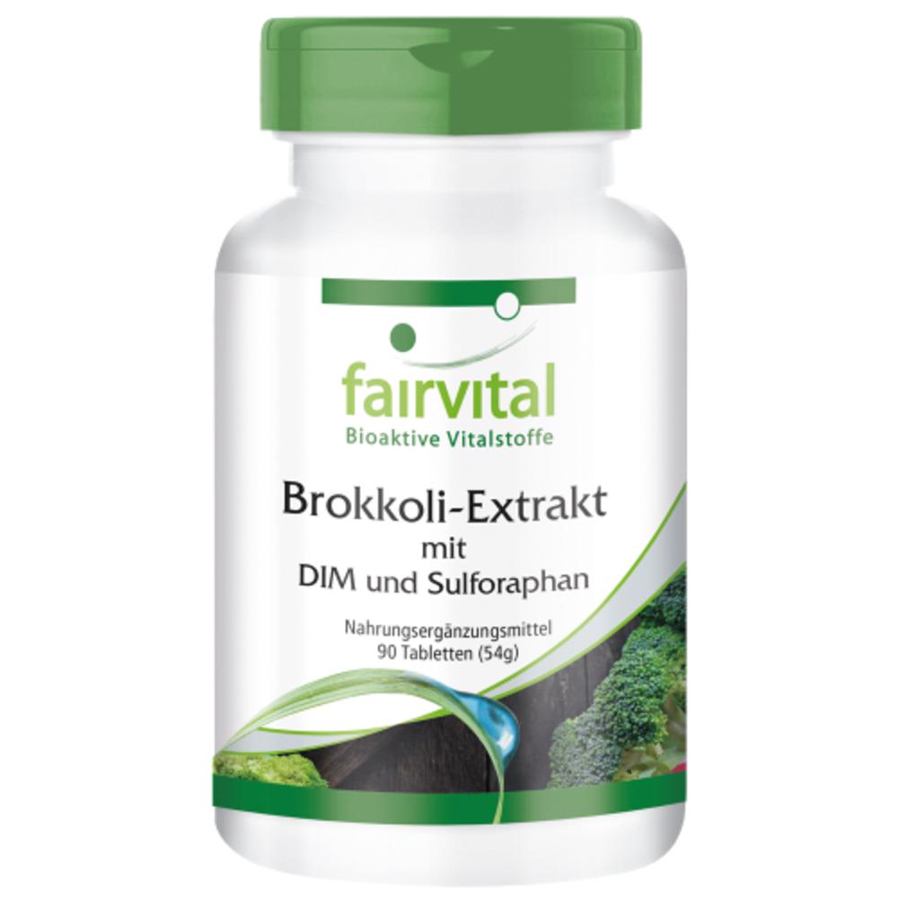 Brokkoli-Extrakt mit DIM und Sulforaphan (90 Tabletten