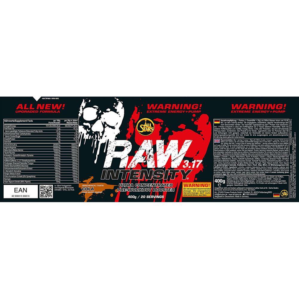 Allstars Raw Intensity 3.17 Test raw intensity 3.17 (400g)
