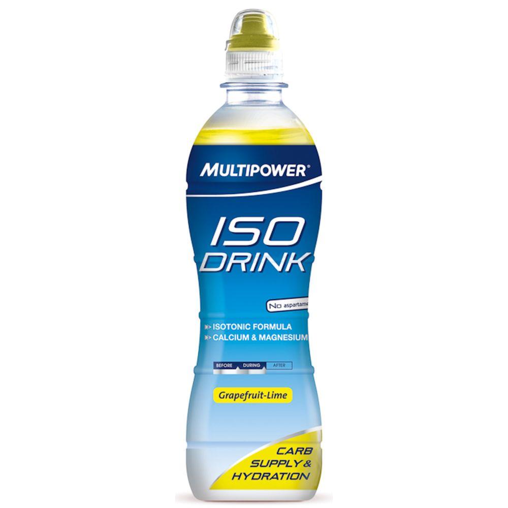 6 x Iso Drink (6x500ml) von Multipower