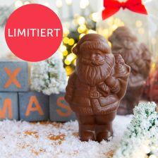 Xucker Weihnachtsmann aus Edel-Vollmilchschokolade (40g)