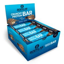 Crunchy Protein Bar - 12x64g - Cookies & Cream