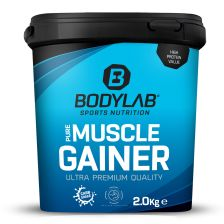 Pure Muscle Gainer - 2000g - Erdbeer