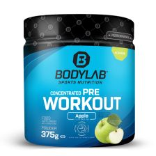 Concentrated Pre Workout - 375g - Green Apple