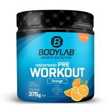 Concentrated Pre Workout - 375g - Orange