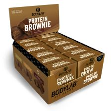 Protein Brownie - 12 x 50g - Double chocolate