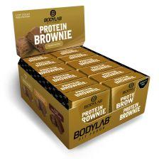 Protein Brownie - 12 x 50g - karamel en amandel en pecannoten