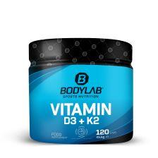 Vitamine D3 + K2 (120 capsules)