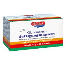 Glucomannan Sättigungskapseln (60 Kapseln)