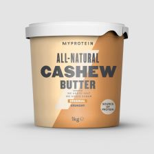 All Natural Cashew Butter - 1000g - Crunchy - MHD 30.05.2019