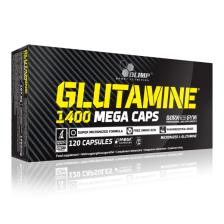 Glutamine Mega caps 1400 (120 caps)