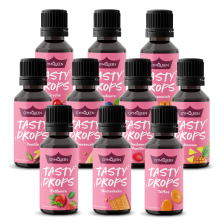 10 x Tasty Drops 10x30ml)