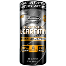Essential Series Platinum 100% L-Carnitine (60 Kapseln)