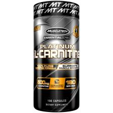 Essential Series Platinum 100% L-Carnitine (180 Kapseln)
