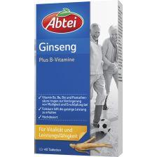 爱普泰 人参提取精华 维生素B族营养片(40粒) Ginseng Plus B-Vitamine (40 Tabletten)