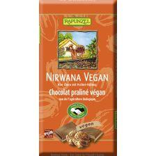 Nirwana vegane Schokolade mit Praliné-Füllung bio (100g)
