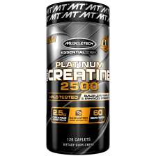 Essential Series Platinum 100% Creatine 2500 (120 Kapseln)