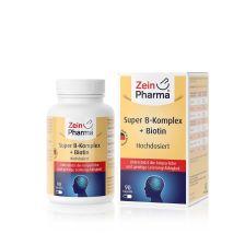 Super B-Komplex + Biotin (90 Kapseln)