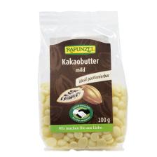 Kakaobutter mild Bio (100g)