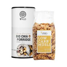 Low Carb Müsli (525g) + WYLD Bio Chia Porridge (450g)