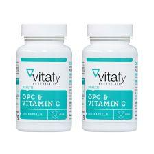 2 x OPC + Vitamin C (2x100 Kapseln)