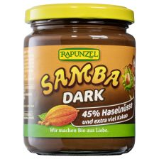 Samba Dark zartbitter Nuss-Nougat-Creme bio (250g)