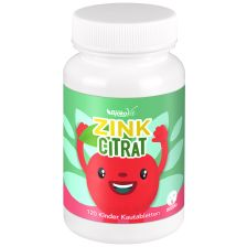Zinc citrate Kids with Cherry Flavour (120 tabs)
