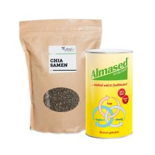 Almased (500g) + Vitafy Essentials Chia Samen (1000g)
