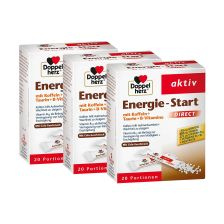 3 x Energie Start Direct (3x20 Portionen)