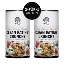 "2 x Bio Clean Eating* Crunchy Beeren & Dinkelflakes ""Very Berry Delight"" (350g)"