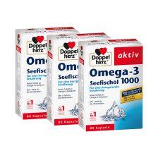 3 x Seefischöl Omega3 (3x80 Kapseln)