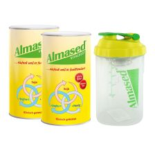 2 x Almased Vitalkost Pulver (2x500g) + Almased Shaker