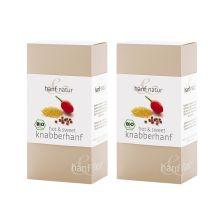2 x Knabberhanf bio (2x100g)
