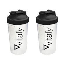 2 x Vitafy Shaker (2x600ml)