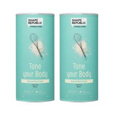 2 x Backprotein Natur »Tone your Body« (2x420g)