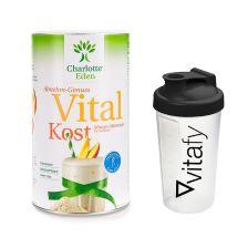 Stoffwechsel Vital-Kost - 175g - Mango-Maracuja + Vitafy Shaker (600ml)