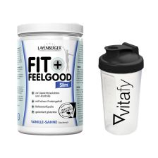 Fit+Feelgood Mahlzeitersatz SLIM (430g) + Vitafy Shaker (600ml)