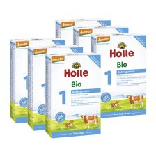 6x Holle Bio Anfangsmilch 1 (400g)