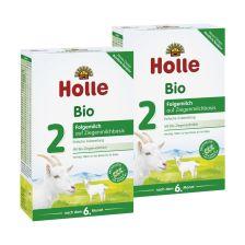 2 x Bio-Folgemilch 2 auf Ziegenmilchbasis nach dem 6. Monat (2x400g)