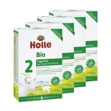 4 x Bio-Folgemilch 2 auf Ziegenmilchbasis nach dem 6. Monat (4x400g)