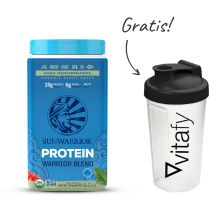 Warrior Blend bio (750g) + Vitafy Shaker (600ml) Gratis!