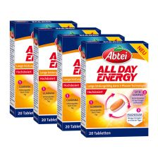 4 x All Day Energy (4x20 Tabletten)