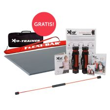 FLEXI-BAR + Flexi-Sports Functional Training Bodenmatte + XCO Premium Set + FLEXI-BAR Protection Bag gratis + XCO Tasche gratis!