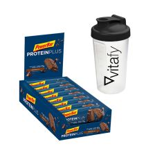 PowerBar Protein Plus 30% (15x55g) + Vitafy Shaker (600ml) gratis